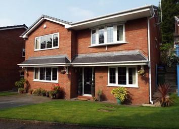 Thumbnail 4 bedroom detached house for sale in Glenside Drive, Woodley, Stockport, Cheshire