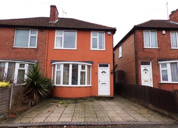 Thumbnail 3 bed semi-detached house for sale in Henley Crescent, Braunstone Town, Leicester, Leicestershire