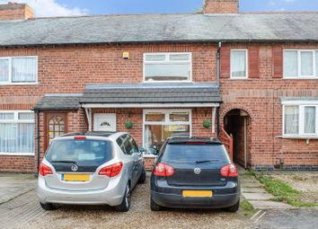Thumbnail 2 bed town house for sale in Chatsworth Avenue, South Wigston, Leicester