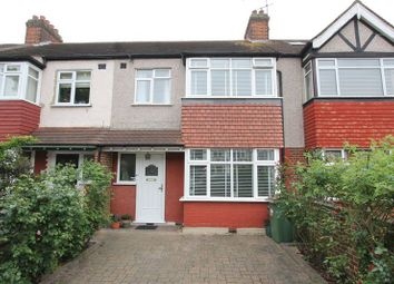 Thumbnail 3 bed terraced house for sale in Chatsworth Road, North Cheam, Sutton