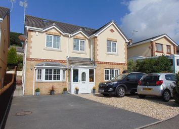Thumbnail 5 bed detached house for sale in Gwscwm Park, Burry Port, Carmarthenshire.