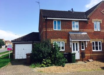 Thumbnail 3 bedroom semi-detached house to rent in Winston Churchill Drive, King's Lynn