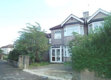 Thumbnail 3 bed flat for sale in Monroe Crescent, Enfield