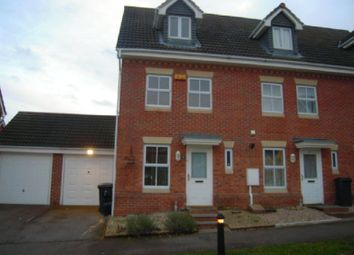 Thumbnail 3 bed town house to rent in Carrington Road, Hamilton, Leicester