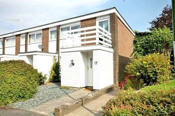 Thumbnail 3 bed end terrace house for sale in Garden Walk, Horsham, West Sussex