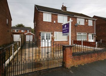 Thumbnail 3 bed semi-detached house for sale in Richmond Road, Hindley Green, Wigan