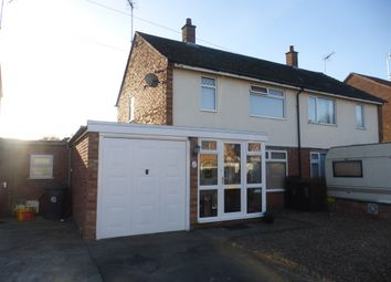 Thumbnail 2 bed semi-detached house for sale in Cromwell Crescent, Sleaford