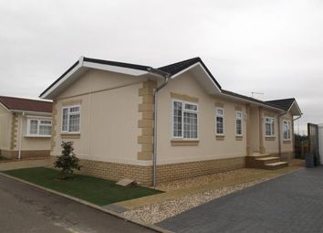 Thumbnail 2 bed mobile/park home for sale in Manor Road, Witchford, Ely