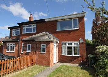 Thumbnail 2 bed semi-detached house to rent in Harwoods Lane, Rossett, Wrexham