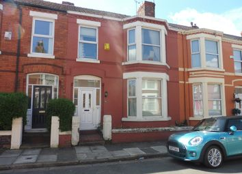 Thumbnail 4 bedroom terraced house for sale in Bromley Avenue, Mossley Hill, Liverpool