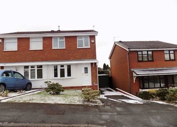 Thumbnail 2 bed semi-detached house for sale in Aintree Way, Dudley