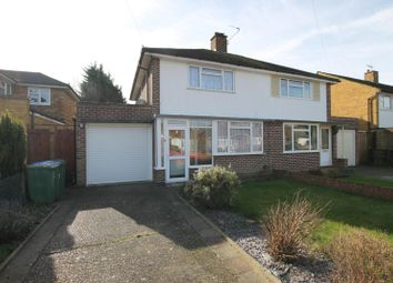 Thumbnail 3 bed semi-detached house to rent in Ivydene, West Molesey