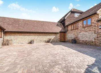 Thumbnail 5 bedroom barn conversion for sale in Nep Town Road, Henfield, West Sussex, Henfield