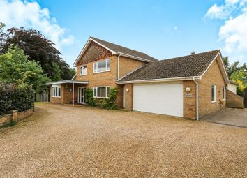 Thumbnail 5 bed detached house for sale in West Carr Road, Attleborough