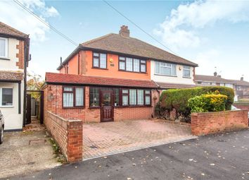 Thumbnail 3 bed semi-detached house for sale in Town Lane, Stanwell, Middlesex