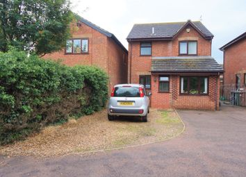Thumbnail 3 bed detached house for sale in Lowry Close, Bradwell, Great Yarmouth