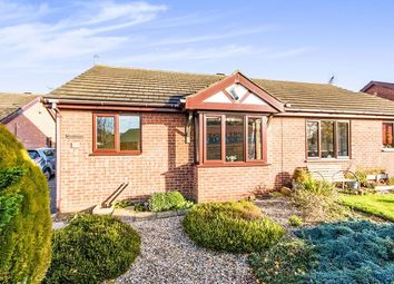 Thumbnail 2 bed bungalow for sale in Carisbrooke Close, Lincoln