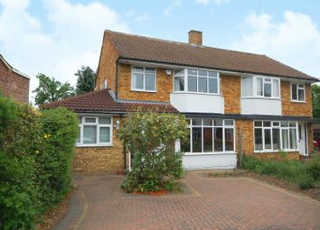 Thumbnail 4 bed semi-detached house for sale in Buckingham Close, Hampton