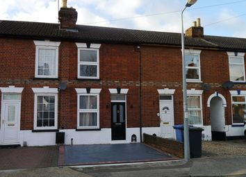Thumbnail 2 bed terraced house to rent in Parliament Road, Ipswich, Suffolk