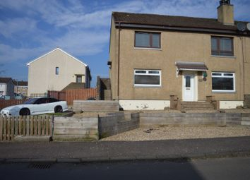 Thumbnail 2 bedroom flat for sale in Braedale Crescent, Wishaw