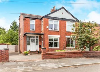 Thumbnail 4 bed semi-detached house for sale in Ashwood Avenue, West Didsbury, Manchester
