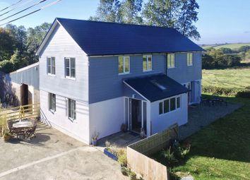 Thumbnail 3 bed detached house for sale in Grinacombe Moor, Broadwoodwidger, Lifton, Devon.