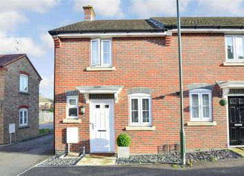 Thumbnail 2 bed end terrace house for sale in Saddlers Close, Billingshurst, West Sussex