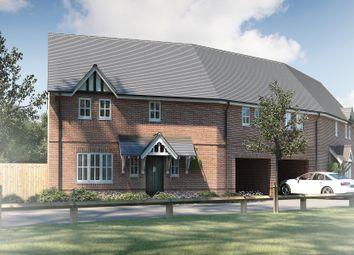 "Thumbnail 3 bed semi-detached house for sale in ""The Rufford"" at Brampton Lane, Chapel Brampton, Northampton"