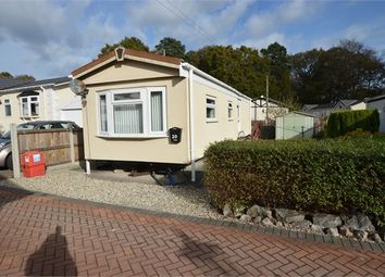 Thumbnail Mobile/park home for sale in Moorland Park, Old Newton Road, Bovey Tracey, Devon.