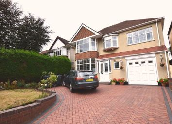Thumbnail 4 bed detached house for sale in Banners Gate Road, Sutton Coldfield