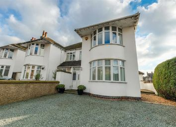 Thumbnail 4 bed semi-detached house for sale in Binswood Avenue, Leamington Spa