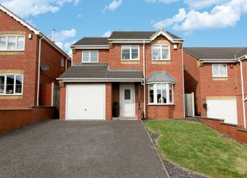 Thumbnail 3 bedroom detached house for sale in Turin Close, Meir Hay, Stoke-On-Trent