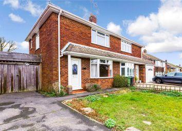 Thumbnail 2 bed semi-detached house for sale in Blewbury Drive, Tilehurst, Reading, Berkshire