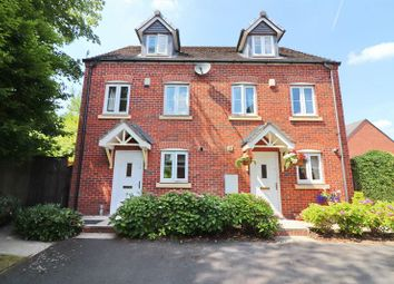 Thumbnail 3 bedroom town house for sale in Brattice Drive, Swinton, Manchester