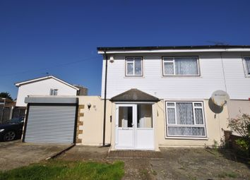 Thumbnail 3 bed semi-detached house to rent in Rookery Crescent, Dagenham