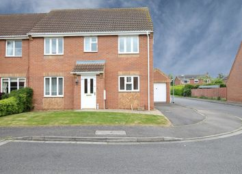 Thumbnail 4 bed semi-detached house for sale in Meadow Walk, Cowbit, Spalding