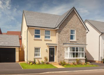 """Thumbnail 4 bed detached house for sale in """"Cambridge"""" at Tiverton Road, Cullompton"""