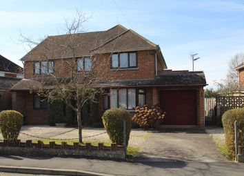 Thumbnail 4 bed detached house for sale in South View Avenue, Swindon