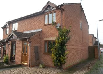 Thumbnail 2 bed town house to rent in Swallow Close, Gainsborough
