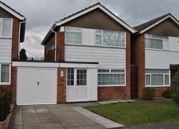 Thumbnail 3 bed link-detached house to rent in Silverlands Close, Hall Green