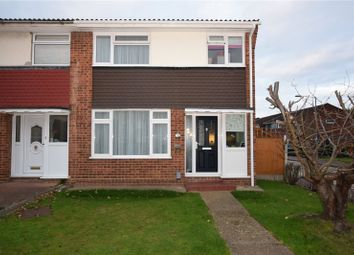 Thumbnail 3 bedroom end terrace house for sale in Great Cullings, Romford