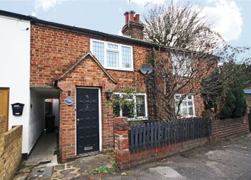 Thumbnail 2 bed terraced house to rent in Chertsey Road, Addlestone, Surrey