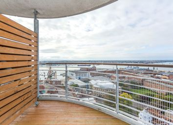 Thumbnail 2 bed flat to rent in Admiralty Tower, Queens Street, Portsmouth