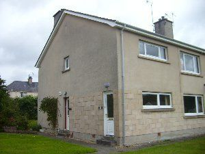 Thumbnail 2 bed flat to rent in Fleurs Road, Moray, Elgin
