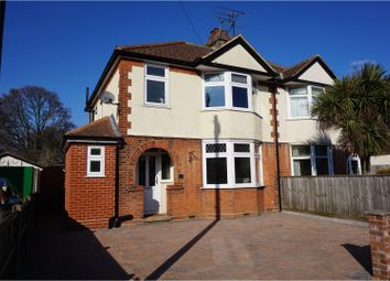 Thumbnail 3 bed semi-detached house for sale in Norbury Road, Ipswich