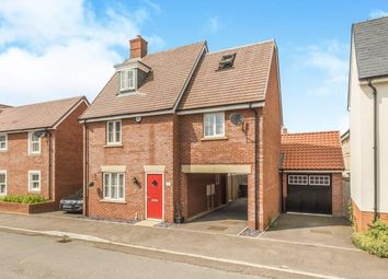 Thumbnail 4 bedroom detached house for sale in Betony Gardens, Stotfold, Hitchin, Bedfordshire