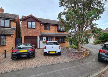 Thumbnail 5 bed detached house for sale in Northfields, Syston