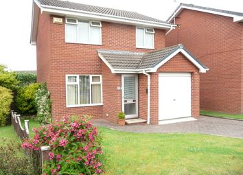 Thumbnail 3 bed detached house to rent in Finchdean Close, Greasby, Wirral