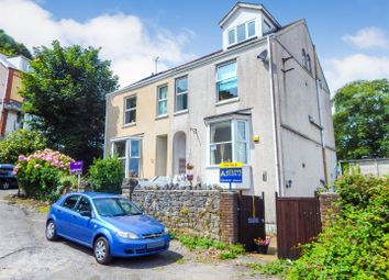 Thumbnail 5 bedroom semi-detached house for sale in Overland Road, Mumbles, Swansea