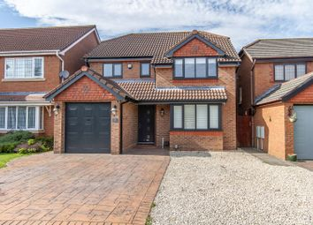 Thumbnail 4 bed detached house for sale in Mcdowell Way, Narborough